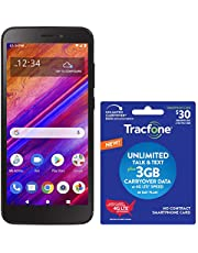 $39 » Tracfone BLU View 1 4G LTE Prepaid Smartphone (Locked) - Black - 16GB - SIM Card Included - CDMA - with $30 Airtime Bundle