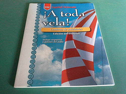 A toda Vela-Cuaderno de actividades-Edicion ddel Professor (Espanol Avanzado)