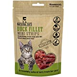 Natural Nosh Cat Treats Chicken Fillets, Duck Fillets, Chicken & Cheese Made With Real Meat (Duck Fillet, 1 Pack)