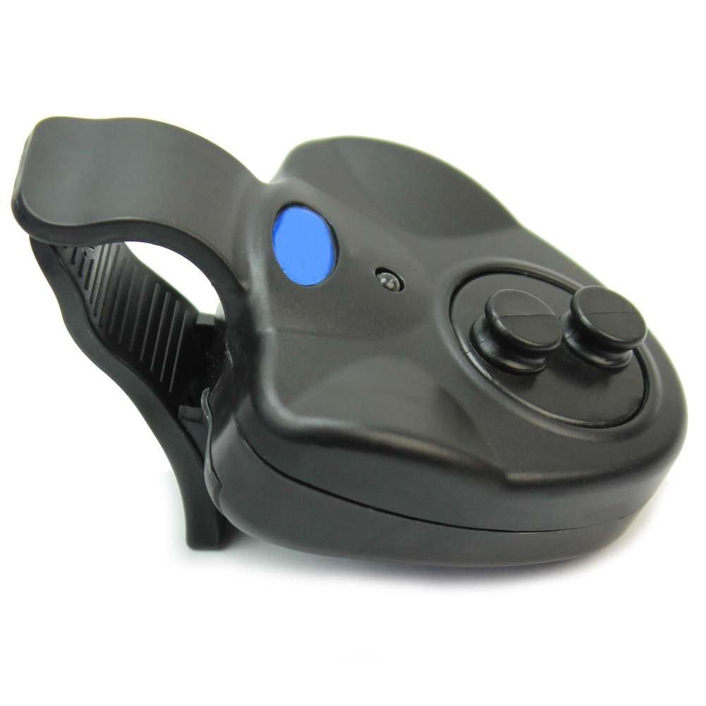 LED Luz Alarma Detector Avisador Inalámbrico para Picada de Pez Pesca: Amazon.es: Deportes y aire libre