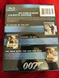 James Bond Blu-ray Set (Quantum of Solace, Licence to Kill, The Man with the Golden Gun)