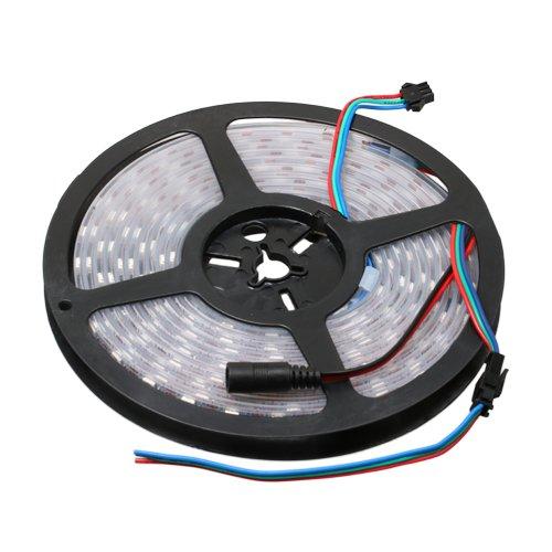 保護チューブ付きシリアルLEDテープ 1リール(4m)   B01LVYPPLB