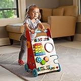 Fat Brain Toys Baby Walker - Busy Baby Deluxe Walker