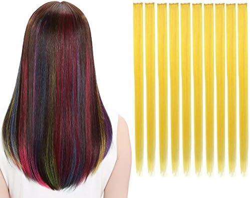 LiaSun 10Pcs/set Multi-Colors Straight Highlight