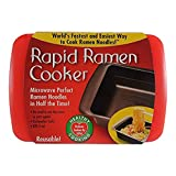 Rapid Brands Rapid Ramen Cooker-Red, One Size, Red