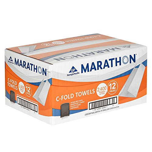 Marathon Commercial White C-fold Paper Towels Case 2,400 by Sam's Club by Sam's Club