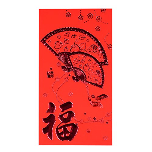 KI Store Red Envelopes for Chinese New Year, 29 pcs Red packet / Lai See / Hong Bao for Spring Festival, Wedding, Graduation, Birthday, and Baby