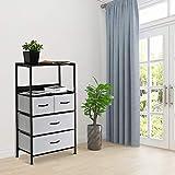 DHMAKER Drawers Dresser with Shelves, closet