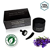 Original Magne-Mask Magnetic Face Mask with Lavender Essential Oil for Relaxation (3.5 oz/100g) - Korean Skin Care Cleansing Dead Sea Mineral Anti-Aging Mud Mask Moisturizer