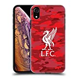 Official Liverpool Football Club Home Colourways Liver Bird Camou Hard Back Case for iPhone XR