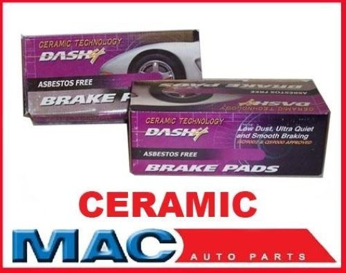 Mac Auto Parts 37958 29 Saturn Outlook Front & Rear Ceramic Brake Pads