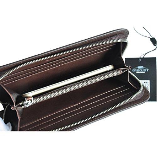 Skin Clutch Bag Men's Bag CROCUST Crocodile Wallet Designer Luxury Wrist wOxqU7