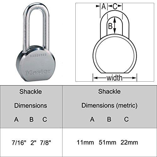 Master Lock - (8) High Security Pro Series Keyed Alike Padlocks 6230NKALH-8 w/BumpStop Technology