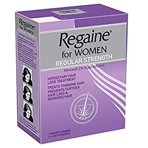 Regaine for Women Regular Strength 2% Minoxidil - 60 ml
