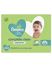 Pampers Baby Wipes, Natural Clean UNSCENTED