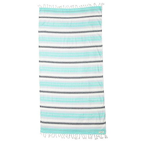 Beach Mint - Mint Baja Beach Towel Blanket Tapestry Wall Hanging - 100% Turkish Cotton by Sand Cloud - As Seen on Shark Tank