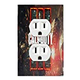 Call of Duty Black Ops III 3 Light Switch Plate Cover And/or Outlet Gamer Room (1x Outlet Design 2)