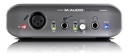 M-AUDIO FAST TRACK USB INTERFACE 64BIT DRIVER DOWNLOAD