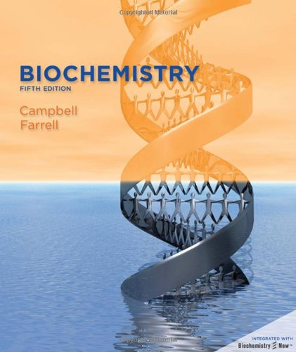 Biochemistry (with BiochemistryNOWTM) (Available Titles CengageNOW)