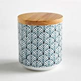 La Redoute Interieurs Moinette Porcelain Food Storage Jar Blue Size One Size