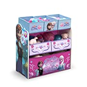 Delta Children 6-Bin Toy Storage Organizer, Disney Frozen