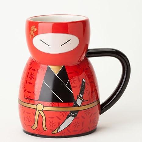 Amazon.com: ukido Ninja Warrior – Yoshio Heroic una taza ...