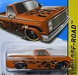 2013 chevy silverado die cast - Hot Wheels 2013 HW Off-Road '83 Chevy Silverado 166/250, Orange