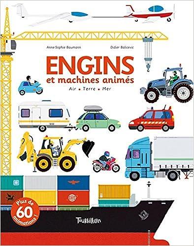 Book's Cover of Engins et machines animés (Français) Relié – 24 novembre 2011