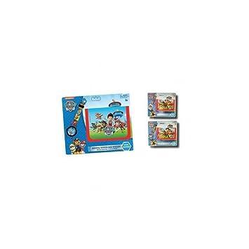 Set reloj digital y billetera de Paw Patrol La Patrulla Canina: Amazon.es: Juguetes y juegos