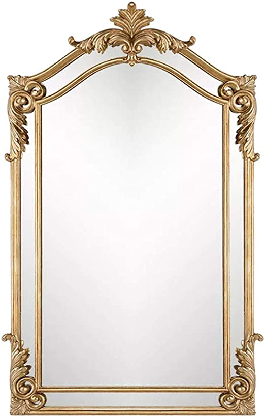 Rustic Full Length Wood Hanging Wall Mirror Luxury Bathroom Hollow Carved Frame Decor Vanity Mirror 27 47 Inch Amazon Ca Home Kitchen
