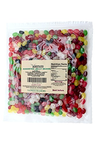 Yankee Traders Assorted Gourmet Jelly Beans, 2 Pound