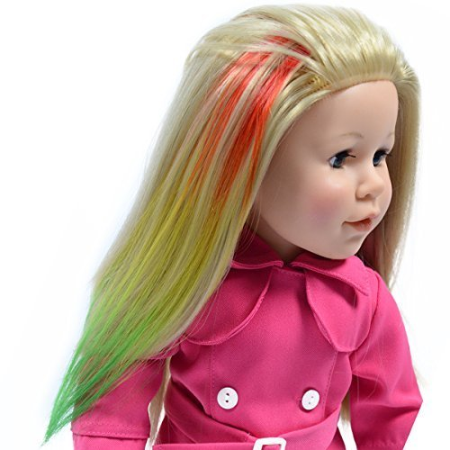 how to make american girl doll wigs