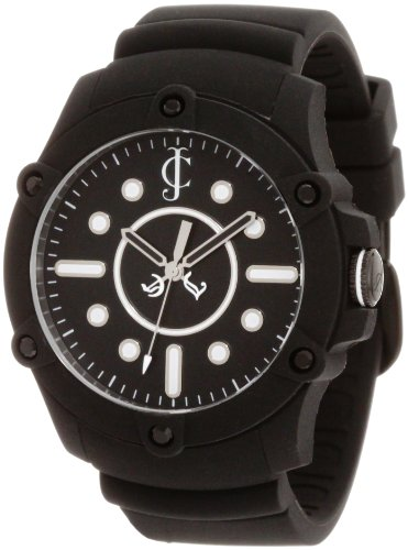 Juicy Couture Women's Black Silicone Strap Watch - 6