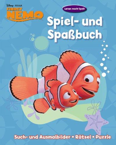 Disney Activity 2 Findet Nemo Spiel Und Spaßbuch Such