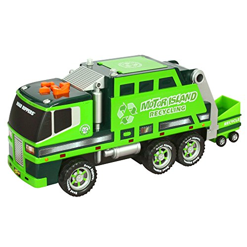Motorized Garbage truck lights sounds product image