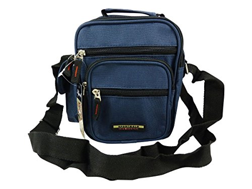 Bolsa con diseño de asa azul Maletín 8q0rg8