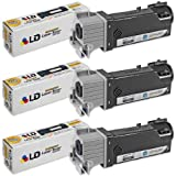 LD © Compatible Dell KU052 (310-9058) Set of 3 High Yield Black Toner Cartridges for 1320/1320C Printers, Office Central