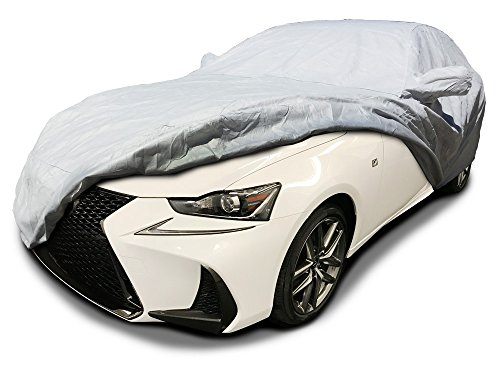 CarsCover Custom Fit 2007-2018 Lexus IS200t IS250 IS250C IS300 IS350 IS350C ISF Sport Car Cover Heavy Duty Weatherproof Ultrashield Covers IS 200t 250 300 350 (Lexus Is300 Car Cover)