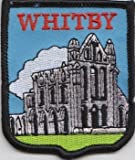 Yorkshire County Whitby Flag Embroidered Patch Badge