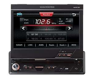 """MACROM M-DVD7601 sintonizador de CD/DVD para el coche - Radio para coche (AM, FM, 177.8 mm (7 """"), 800 x 480 Pixeles, Negro, SD, JPG) (importado)"""