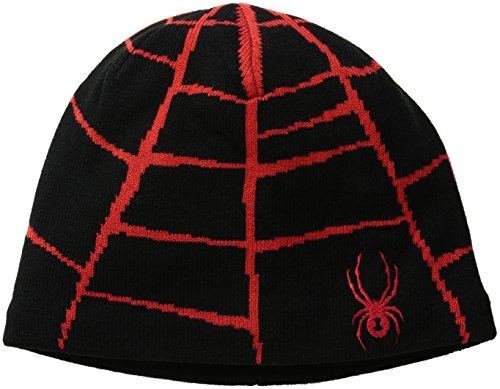 Spyder Boys Web Hat, Black/Formula, One Size