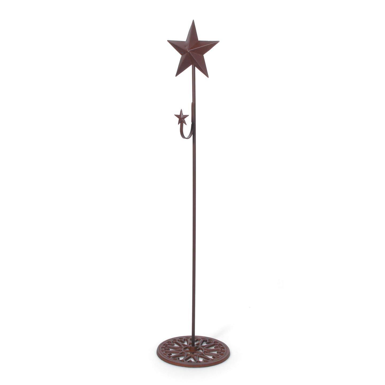 Darice Bulk Buy DIY Crafts Standing Metal Wreath Hanger with Star 37 inches (4-Pack) 6562-51