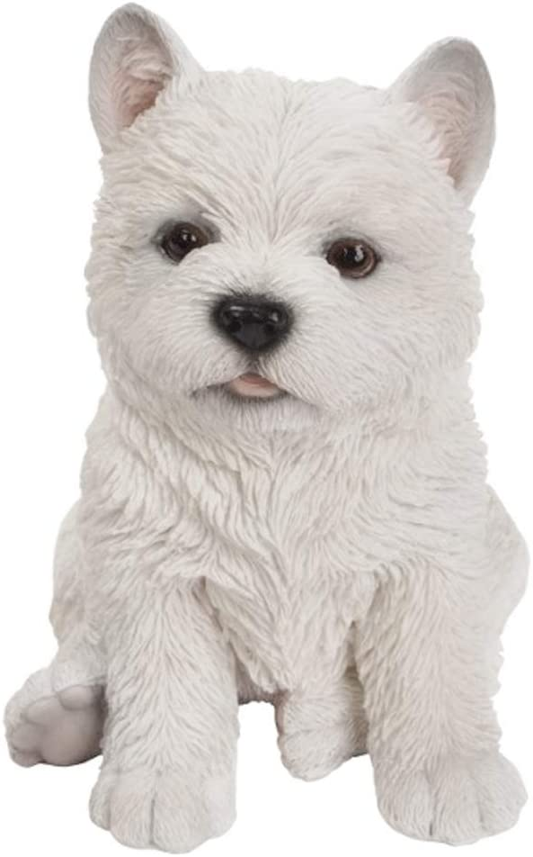 The Bridge Collection Replica Puppy Statue (Westie)