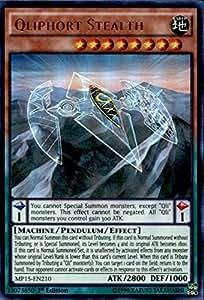 Super Rare PEVO-EN058-3 x Qliphort Monolith Yu-Gi-Oh 1st edition