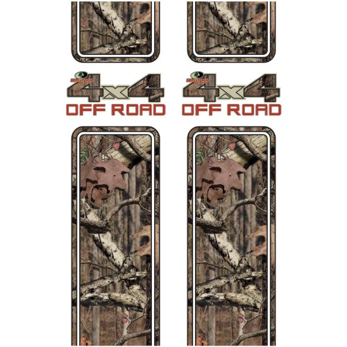 Mossy Oak Graphics 12001-BI Break-Up Infinity 4x4 Off Road Rear Quarter Panel Kit ()