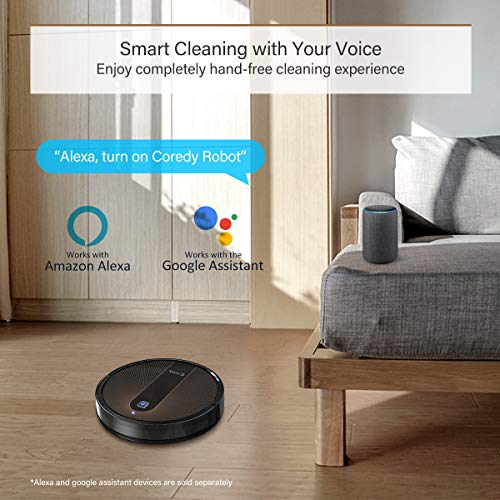 Coredy R750 Robot Vacuum Cleaner, Compatible with Alexa, Mopping System, Boost Intellect, Virtual Boundary Supported… 4