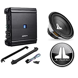 "Alpine 500 Watt RMS Class ""D"" Mono Car Amplifier + JL Audio 15"" W0v3-Series 4-Ohm Car Subwoofer"