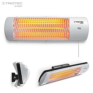 Trotec ir 1500 s calefactor por radiaci n infrarroja 1500 watt 3 niveles de calefacci n - Stufa per bagno ...