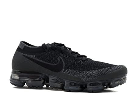 Nike Men's Air Vapormax Flyknit Trail Running Shoes, Black  (Black/Anthracite/Dark