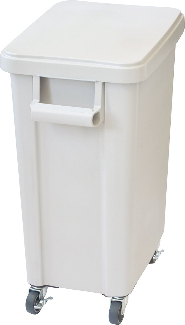 リス ゴミ箱 業務用 厨房用キャスターペール 45L 排水栓付き グレー 16047 B00VSYOGYS 45L|グレー グレー 45L